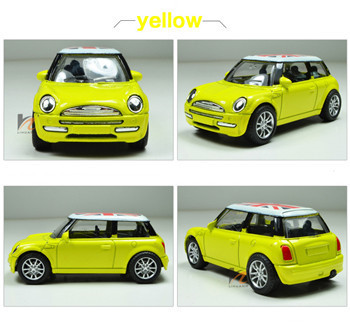 1:43 Mini Metal scale models car toy, Miniature model cars for kids Die cast pull back Union Jack cheap automobiles