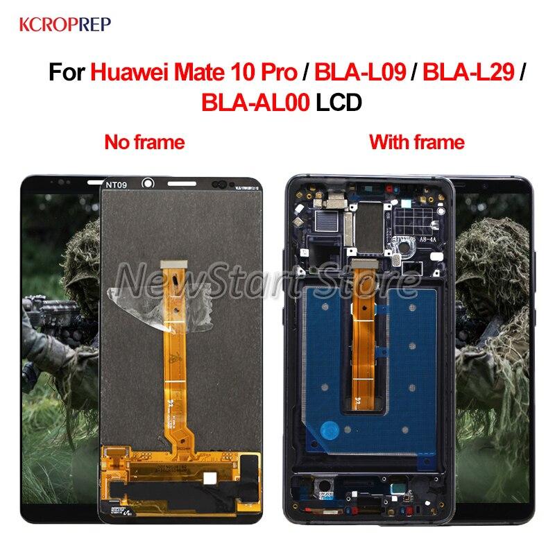 6,0 для huawei mate 10 pro ЖК дисплей Дисплей Сенсорный экран дигитайзер в сборе для huawei Коврики 10 pro BLA L09 BLA L29 BLA AL00 ЖК дисплей