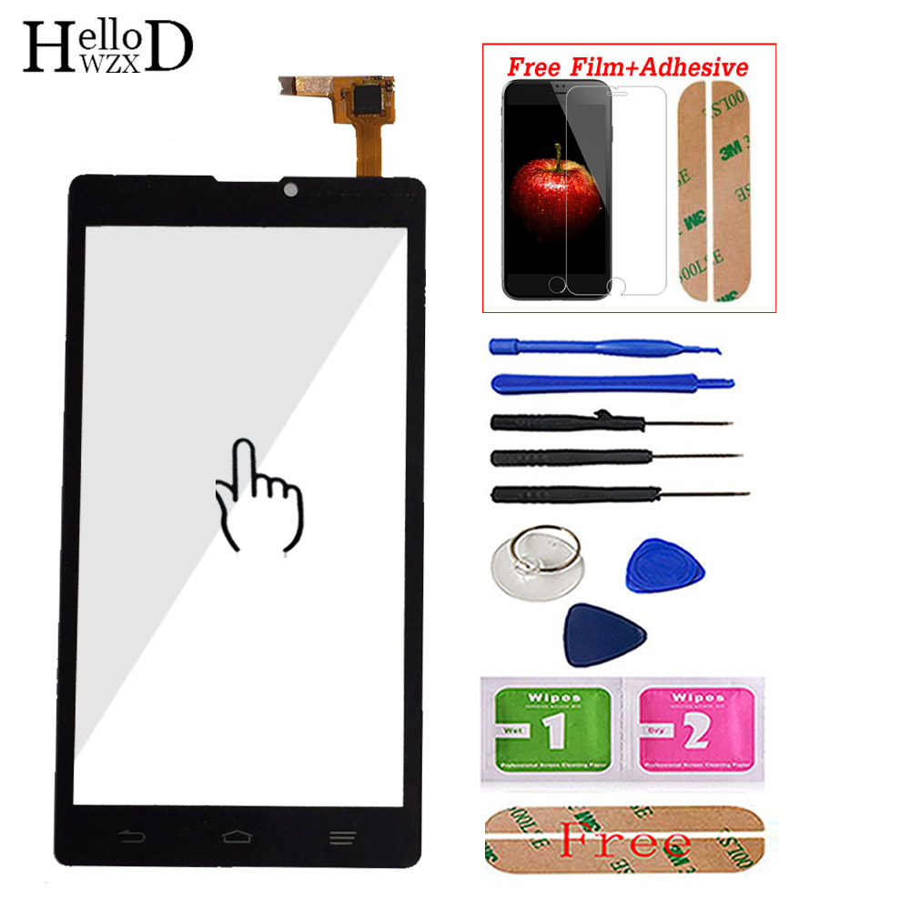 Mobile Touch Screen For ZTE Blade L2 Front Touch Screen Glass Digitizer Panel Sensor For ZTE L2 Repair Adhesive Screen Protector(China)
