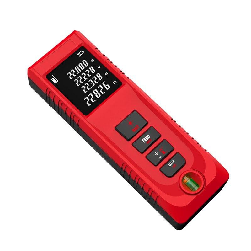Fjs лазерный дальномер 40 мм цифровой лазерный дальномер ручной расстояние ip54 электронный мера Инструменты