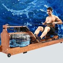 YPHCJ02 4-gear Водонепроницаемость твердой древесины двухсторонний трек гребной тренажер аэробные упражнения тело планер оборудование для фитнес-тренировок