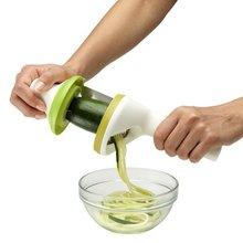 Gadgets de cocina Práctico Spiralizer Vegetal Rallador de Cocina Herramientas