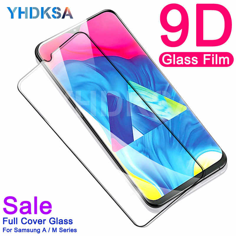 9D Protective Glass For Samsung Galaxy A10 A20 A30 A40 A50 A60 A70 A80 A90 M10 M20 M30 Tempered Screen Protector Glass Film Case