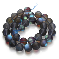 1 Strand Handmade Loose Spacer Round Natural Stone Beads Neno Abalorios Strass Cristal Jewelry Necklace Bracelets