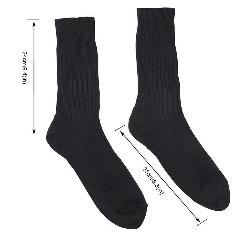 Warmski Unisex Thermal Cotton Heated Socks 8
