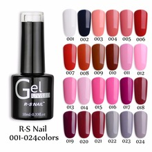RS NAIL Gel1Pcs 2015 RS NAIL135 Ett trinn 3 I 1 UV Gel Soak Off Color Ny Ankomst Brand Uv Gel Polish Profesional Nail Polish