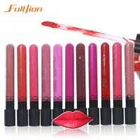 Pro Waterproof Elegant Daily Color Lipstick Matte Smooth Lip Stick Lipgloss Long Lasting Sweet Girl Lip Shade 11 Color Available
