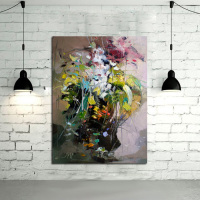 Abstract Wall Art Handpainted Oil Painting Beautiful Abstract Oil Paintings On Canvas Modern Art Animal Pictures