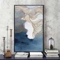 永和ホーム装飾キャンバス印刷物抽象風景カスタムサイズ油彩画アート作品用飾るリビングルーム