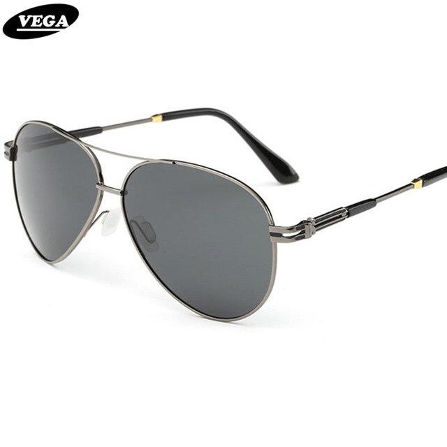 VEGA Men Women Pilot Sunglasses Polarized Classic Aviation Glasses With Pouch 332