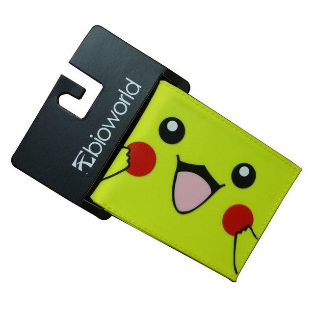 6bdefcdaa3 Bella Pikachu Portafogli Kawaii Cartoon Pocket Mostro Palla Pokemon Go  Supporto di Carta Della Borsa Sacchetti