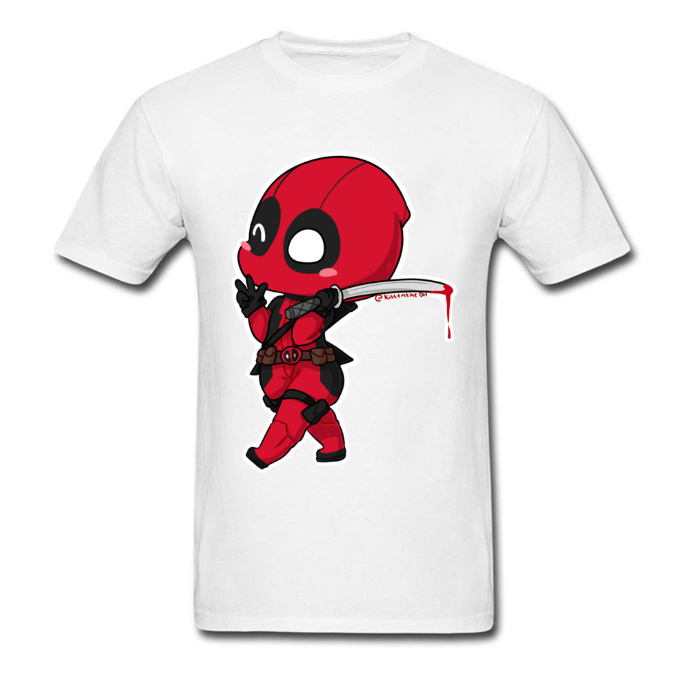 Red Deadpool Cartoon New Men 39 s Top T Shirts Summer Awesome Designers Tshirt For Boy 90s Clothing Funny Marvel T Shirts USA in T Shirts from Men 39 s Clothing