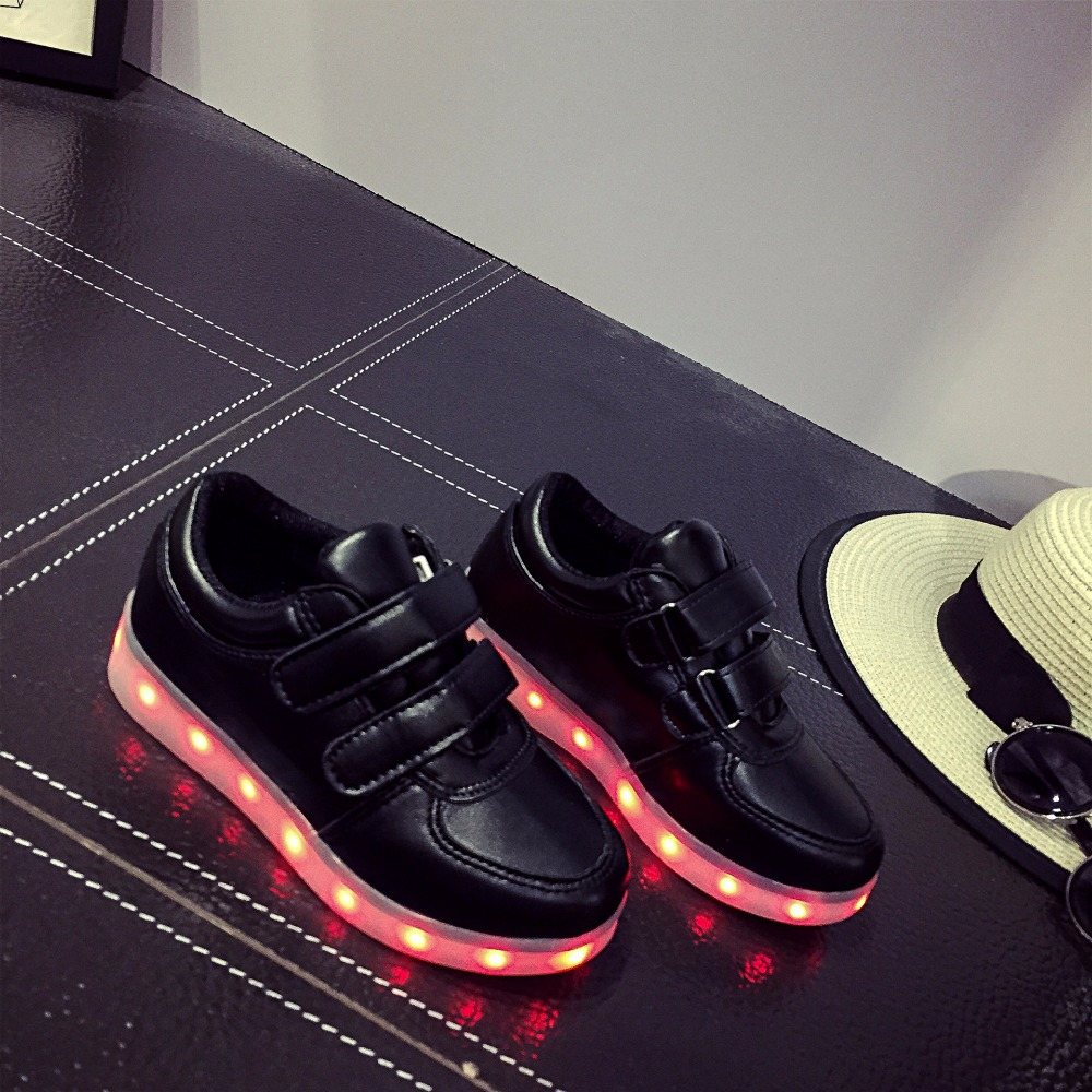 Led Sneakers Classic Strap Kids 13