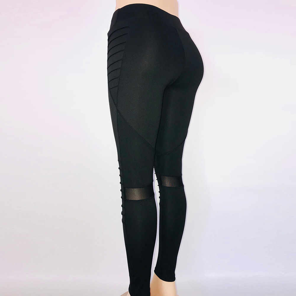 437244b118eeb9 ... Women's Fashion Yoga Pants Workout Leggings Fitness Sports Gym Running  Yoga Athletic Pants Elastic High Waist ...
