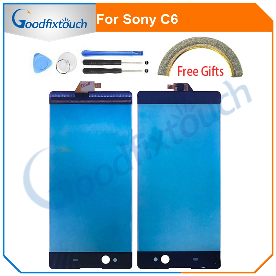 For Sony Xperia XA Ultra C6 F3211 F3212 F3213 F3215 F3216 Front Touch Screen Digitizer Panel Sensor Glass Lens Repair Parts