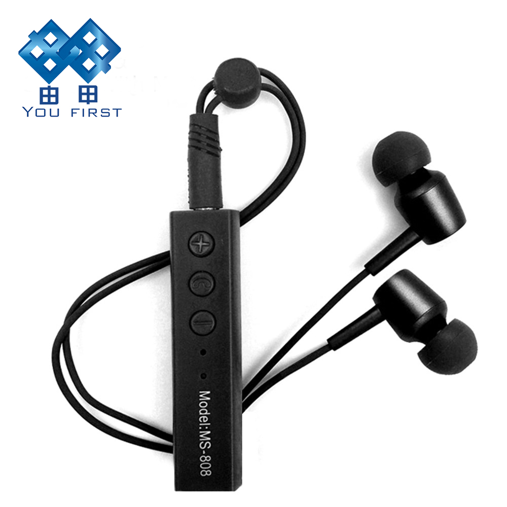 Sport Wireless Bluetooth Earphone Lavalier Auricular Phone HiFi Bass Stereo Earphone Handfree With Mic Kulakl k For Mobile Phone absolute stylish sport v4 1 q2 sound bass stereo bluetooth earphone wireless handfree with mic for phones