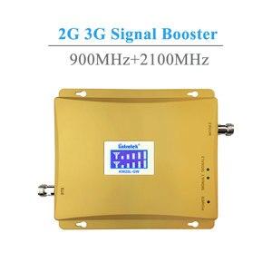 Image 2 - Lintratek شاشة الكريستال السائل 3G W CDMA 2100 MHz + GSM 900 Mhz المزدوج الفرقة الهاتف المحمول إشارة الداعم GSM 2G 3G UMTS 2100 مكرر إشارة