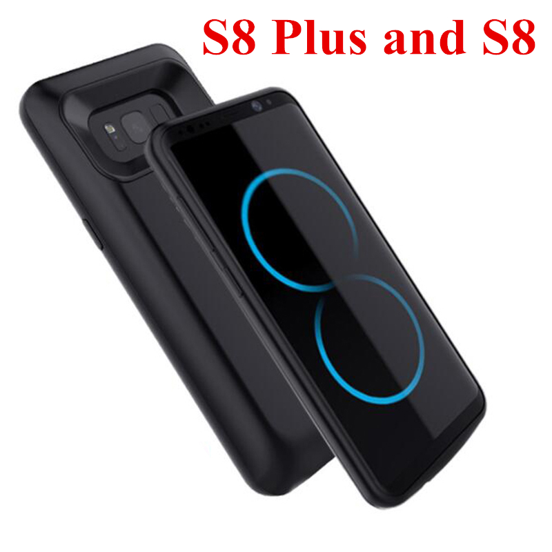 For Samsung S8 Plus Battery Case 5500Mah Fashion Charger Case For Galaxy S8 Battery Case Bank For Samsung S8 Battery Case