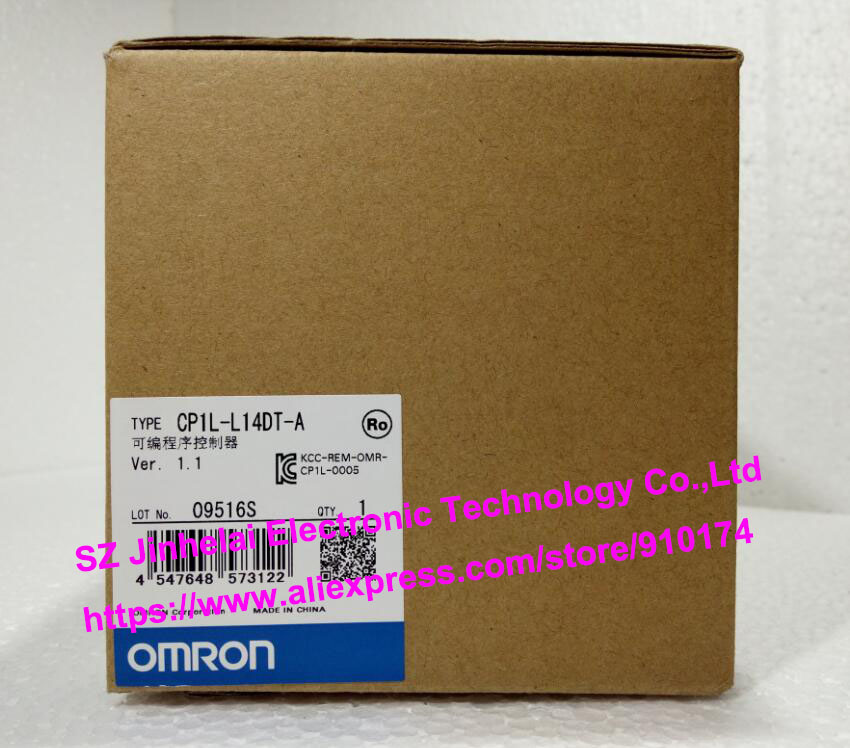 100% New and original  CP1L-L14DT-A  OMRON PLC CONTROLLER [zob] 100% new original omron omron proximity switch e2e x10d1 n 2m