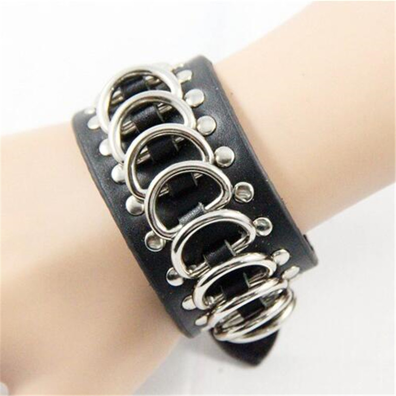 Star Love Punk Rock D-shackle Bracelets Cosplay Costumes Props Chain Bracelet Middle Ages Accessories