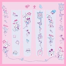 Krankenschwester Kaninchen frauen Lolita Über knie Strümpfe Samt Oberschenkel Hohe Lange Strümpfe Cosplay Gute Qaulity Japanischen Mädchen