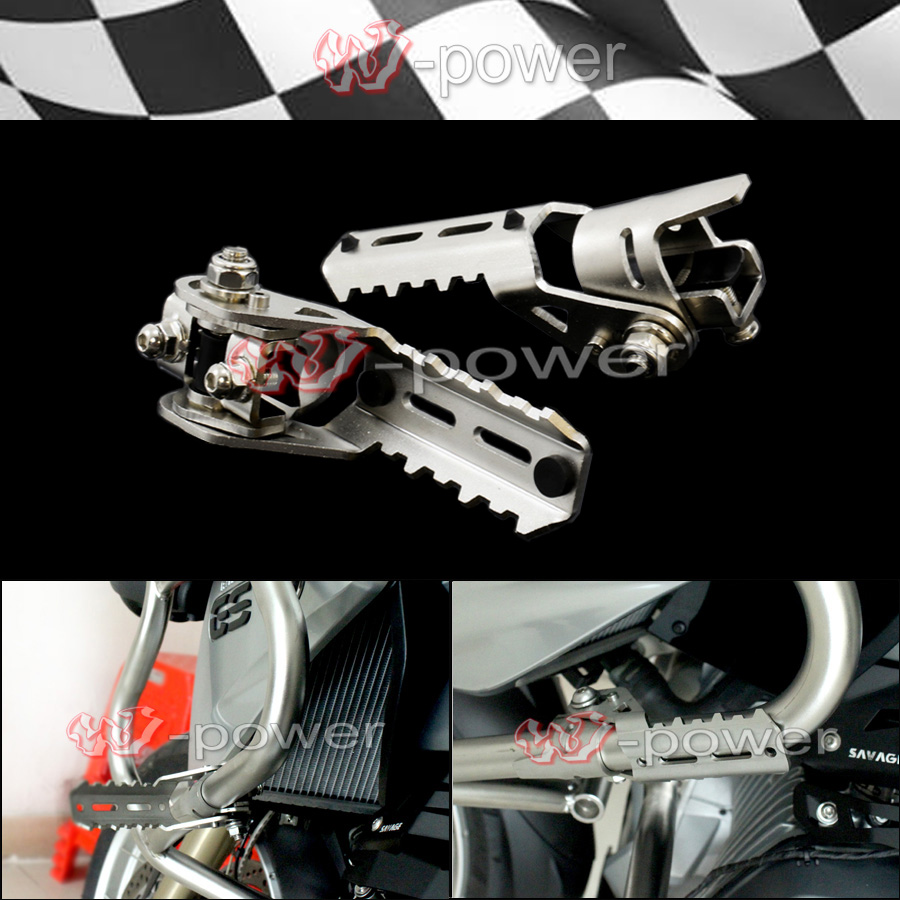 For BMW R1200GS LC Highway Pegs Pegs For Pipes Triumph Tiger Explorer for triumph tiger 800 tiger 1050 tiger explorer 1200 easy pull clutch cable system