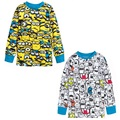 50pcs/lot Children Clothes Cartoon Boys T-Shirts Kids Clothing Minions Tees Shirts Fashion Monster Girls Tops Sweatshirt Jersey