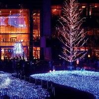 110V US Power Plug Net Lights 672 LEDs 4 X 6m Net Lights Giant Fairy Christmas