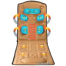 Massage Mattress Multifunctional Electric Infrared Magnetic Therapy Heating Full-body Massage Cushion Massager Equipment
