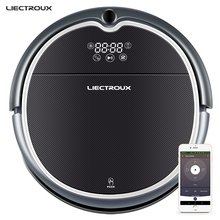 (Promotion)LECTROUX Robot Vacuum Cleaner Q8000 WiFi,Map Navigation,Wet Dry Mop,Suction 3KPaVirtual,Memory,UV,remote,selfrecharge