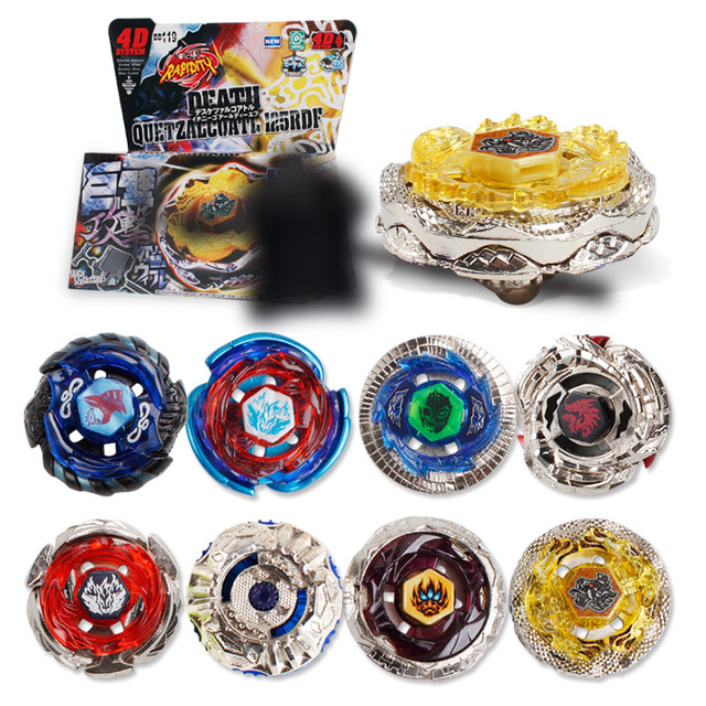 Hot Sale Beyblade Metal Plastic Fusion 4D Spinning Rapidity Beyblades Spin Top Toy Set,Bey Blade Spinner with Launcher Kids Toys