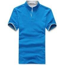 Мужчины Хлопок Нагрудные POLO Рубашки V Шеи С Коротким Рукавом Рубашки Мужские Топы Одежды M-3XL(China (Mainland))