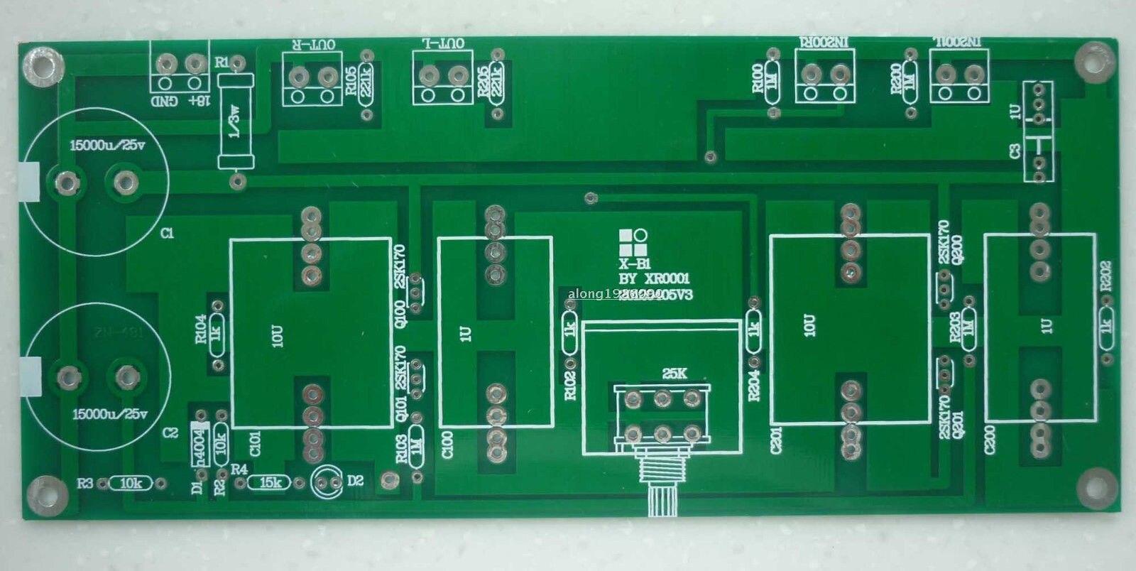 1 pcs XC1 (PASSER B1 TAMPON) CLONE Préamplificateur Nu PCB Préampli PCB