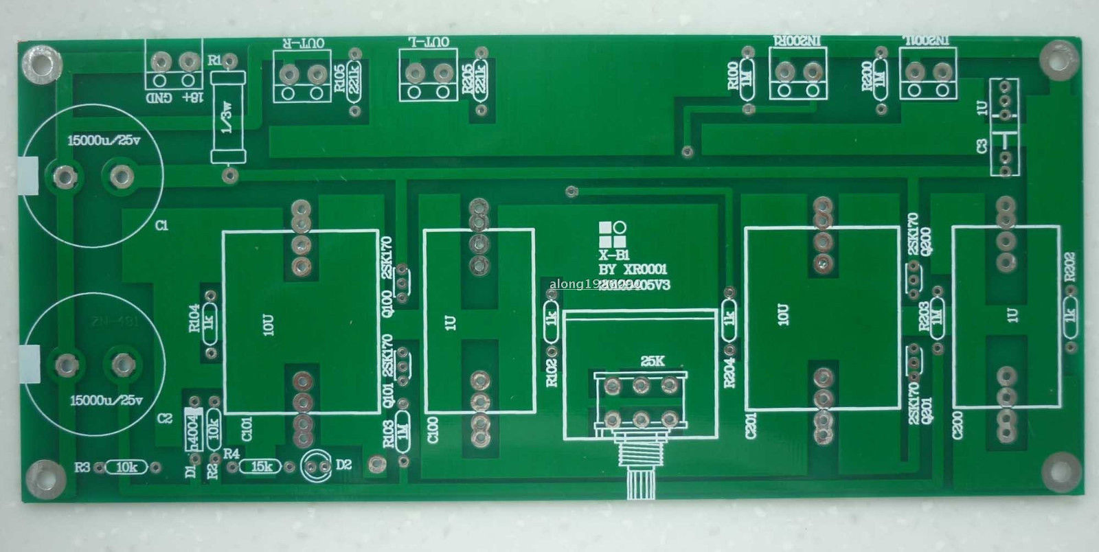 Lite Ls29 Pcb Tube Buffer Preamplifier Board Pcb Based On Musical Fidelity X10-d Pre-amp Circuit Moderate Price Accessories & Parts Audio & Video Replacement Parts