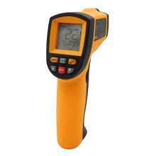 GM500 Non contact Digital Laser infrared thermometer  -50~500C(-58~1022F) Themperature Pyrometer IR Laser Point Gun EMS 0.1-1.0