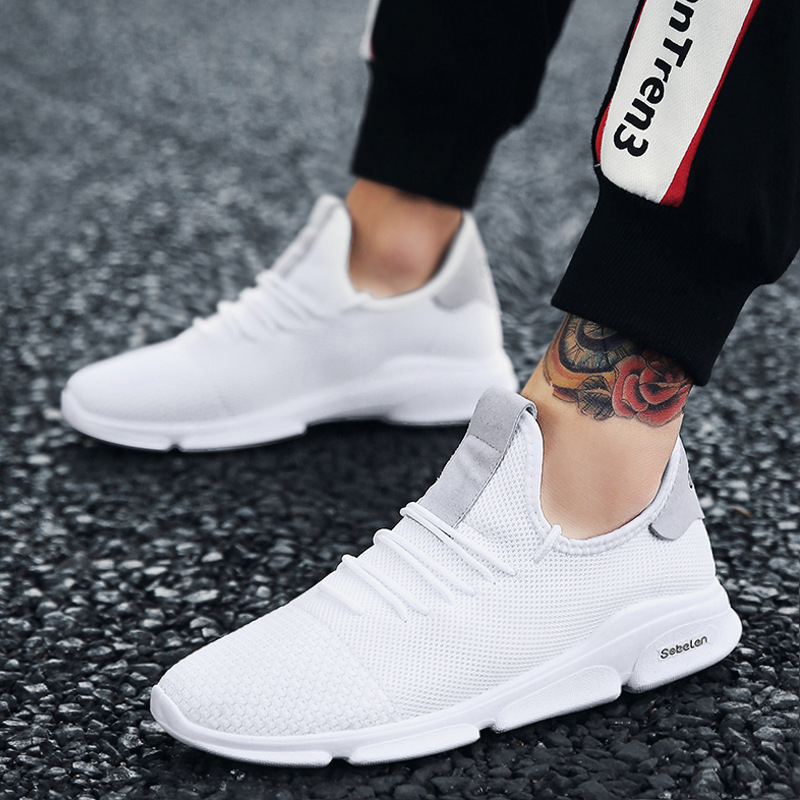 Chaussure Zapatilla Transpirable Zapatos Hombre Ligero Zapatillas Hombres Calzado Pisos 2 Malla Sólidos Casuales Cool 1 3 De ztqvpO