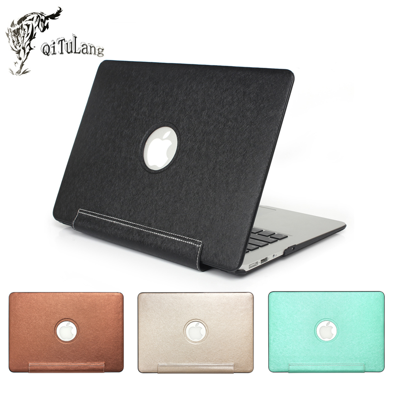 Qitulang PU Laptop Case Liner Sleeve Bag for Macbook Air 13 Pro Retina 11 12 15 inch 2016Model A1706 A1707 Shockproof PU leather sleeve case for macbook laptop air pro retina 11 12 13 15 inch notebook bag 14 13 3 15 4 laptop cases