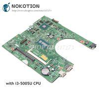 NOKOTION CN 06KTJF 06KTJF 6KTJF For Dell inspiron 14 3458 3558 Laptop Motherboard 1XVKN SR27G i3 5005U CPU GT920M Video card