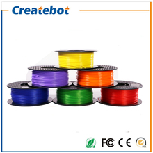 Createbot 3d принтер накаливания ноак 1.75 мм 3d печать материалов 1 кг пластик 3d принтер расходные материалы
