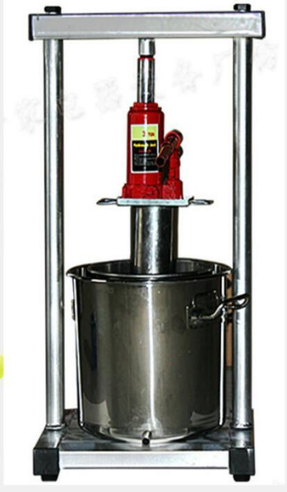 Équipement de vinification d'acier inoxydable de Machine de pressage de raisin de ménage