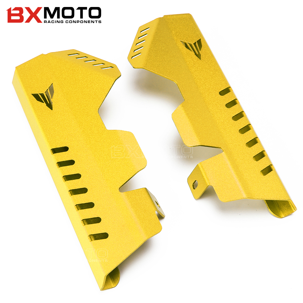 For Yamaha MT07 MT-07 FZ MT 07 FZ07 Motorcycle Accessories Radiator Grille Guard Protector Side Covers 2013 2014 2015 2016 2017 for yamaha mt 07 fz 07 mt07 fz07 2014 2016 motorcycle accessories cnc aluminum engine protector guard cover frame slider blue