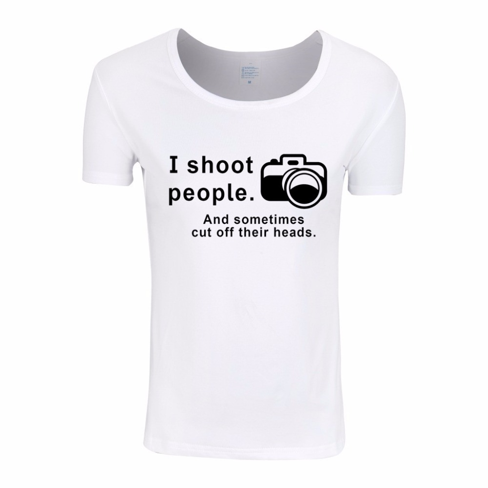 Asian Sizei Shoot People Funny T Shirt Design For Womenfemale