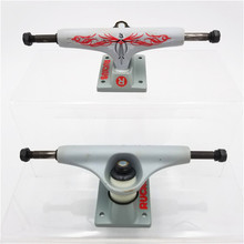 "RUCKUS Skate Trucks 5"" Low Skateboard Trucks Shiny Gold/Gun Metal/Red Aluminum Trucks For 7.5"" 7.75"" Decks"