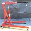 2 T plegado hidráulico jib grúa tienda auto motor de elevación del alzamiento de elevación de la grúa del coche plegable