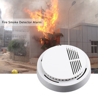 1 pcs fire smoke sensor detector alarm tester 85db home security system for family guard office.jpg 200x200