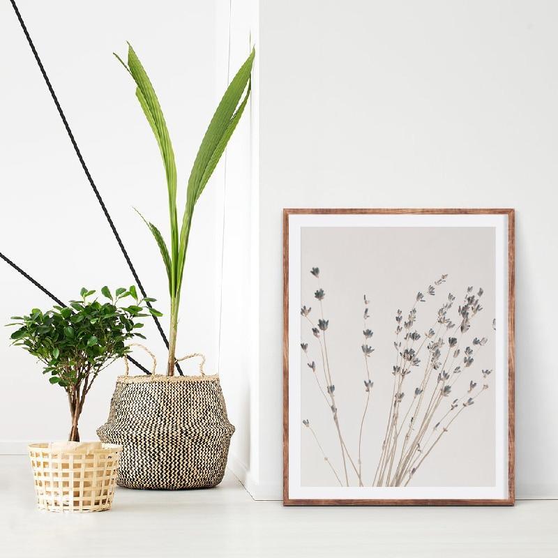Eucalyptus Print Living Room Decor