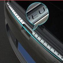 Автомобильный Стайлинг из нержавеющей стали Задний бампер протектор багажника бампер накладка протектор для peugeot 3008 2012- автомобильные аксессуары
