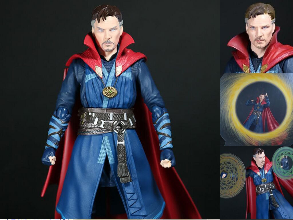 15CM Anime figure The avanger Doctor Strange movable action figure collectible model toys for boys