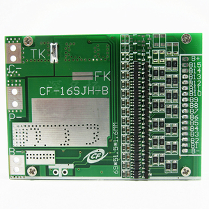 Image 3 - 13S  20A BMS 48V Lithium Battery Protection Board with Balance  for electric car protection board Bicycle protection board Power
