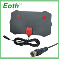 vhf uhf 2pcs Eoth Digital TV Surf פוקס אנטנה TVFox מקורה HDTV בכבלים רדיוס Antena אוויר DVB-T DVB-T2 VHF UHF Antenas כונס Signal (1)